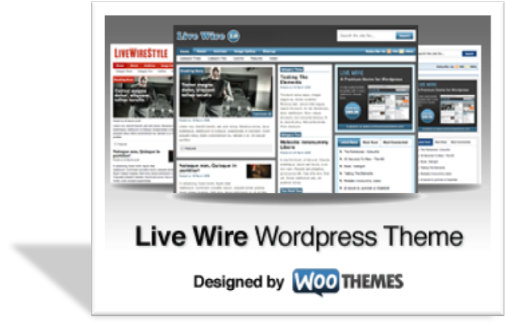 Livewire шаблон для wordpress