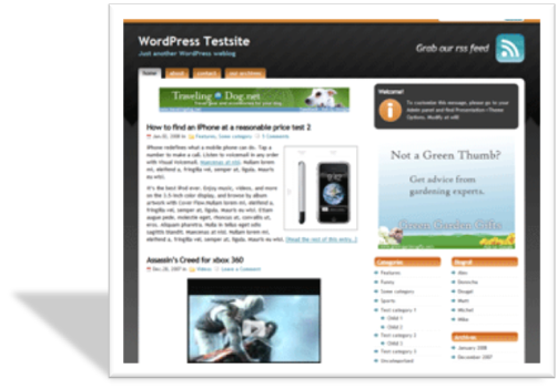 Studio orange шаблон для wordpress