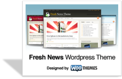 Freshnews шаблон для wordpress