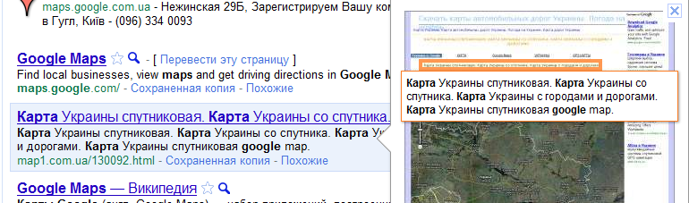 Google Instant Preview